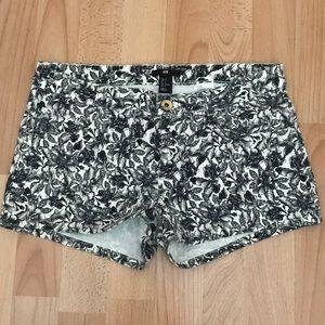 H&M Floral Print Shorts